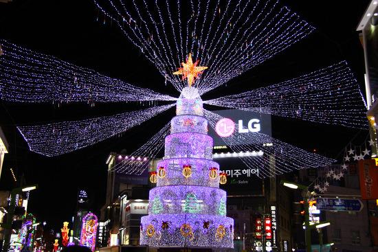 제8회 부산크리스마스트리문화축제 부산역 트리점등식