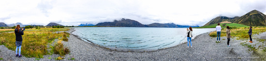 뉴질랜드 지질답사여행35 - 콜리지 호수