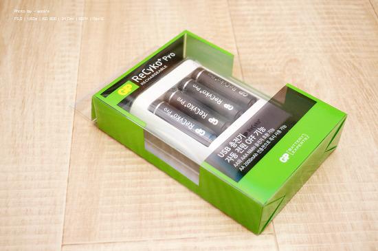 GP USB 배터리 충전기