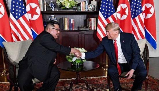 북미정상회담 트럼프 김정은 역사적 만남 의미