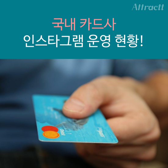 [카드 뉴스] 국내 카드사 인스타그램 운영 현황..