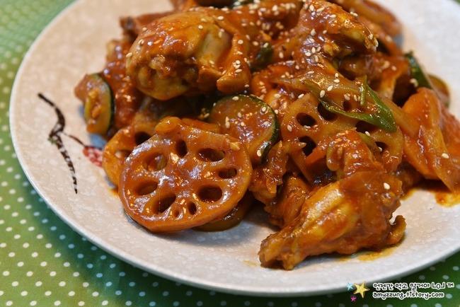 맛있게 매콤한 닭요리 '매운닭찜 만들기'