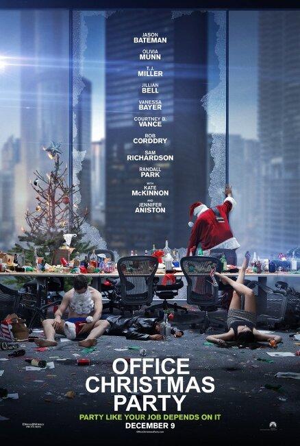 오피스 크리스마스 파티(Office Christmas Party)... 조쉬 고든, 윌 스펙, 제니퍼 애니스톤, 올리비아 문, 제이슨 베이트먼... 해피엔딩으로 끝나는 한바탕 소동