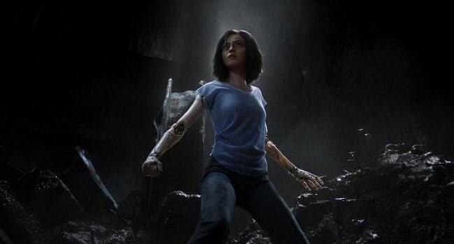영화 '총몽 Alita: Battle Angel, 2018'의 예고편이 공개되다