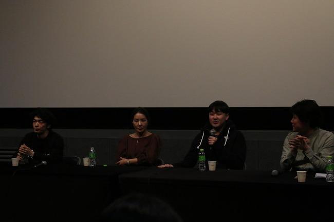 <범죄의 여왕> 상영 후 이요섭, 박지영, 백수장 시네토크
