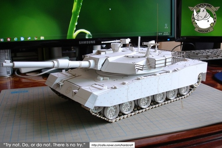 [종이모형] MBT K1A1 1:25