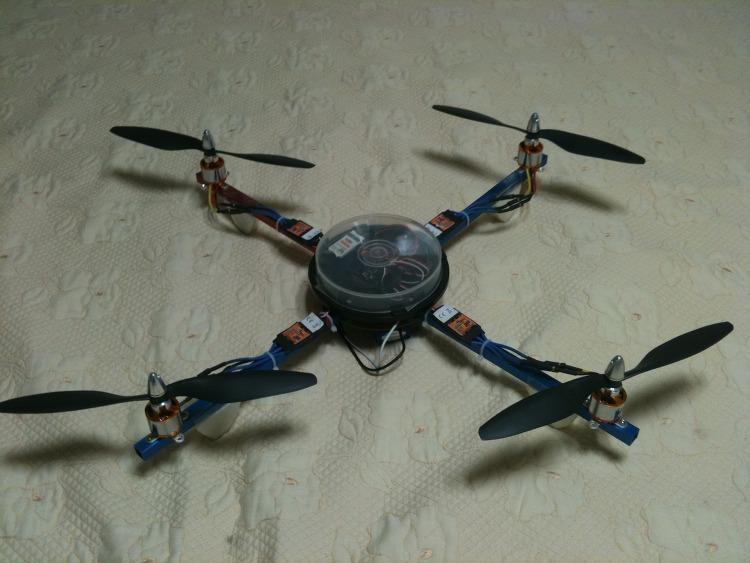 쿼드콥터(x) 하늘을 날다...