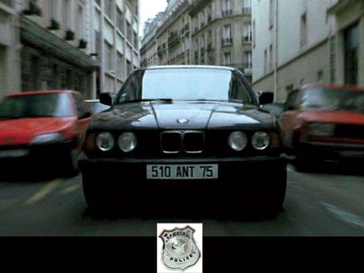 영화속 자동차: 로닌의 BMW M5, 푸조 406