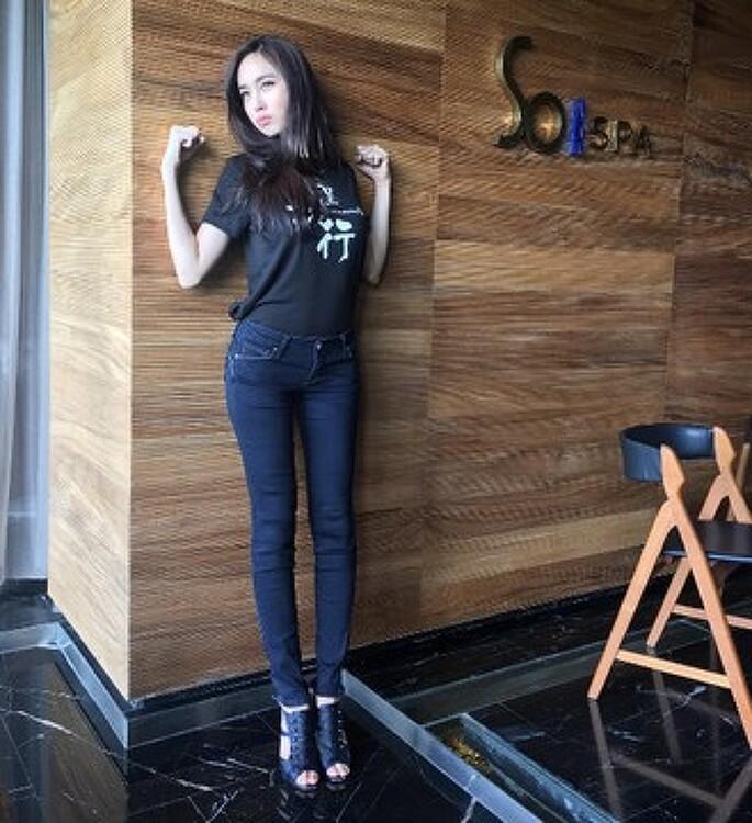 뽀이 트리차다 태국 김태희 1위 여신급 인스타 미모