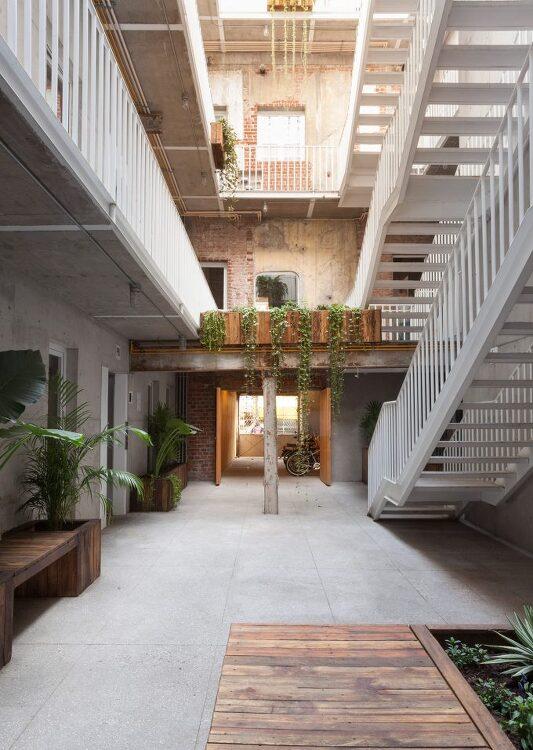 *멕시코 중정 아파트 [ Cadaval & Sola-Morales ] Mexico apartments and offices