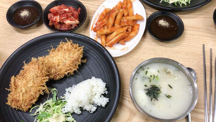 [광화문] 돈까스 집 - 빵튀 방문기