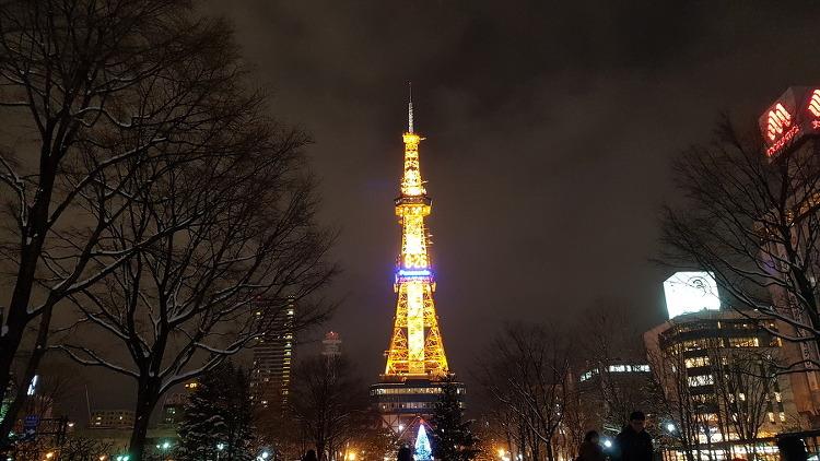 삿포로 여행 시작! JR INN 호텔, 시계탑,TV타워