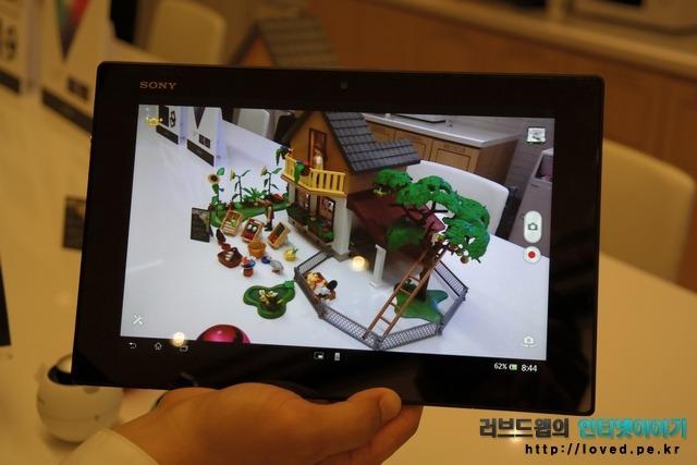 소니, 엑스페리아, 태블릿Z, 엑스페리아 태블릿Z, 태블릿PC, 태블릿, 카메라