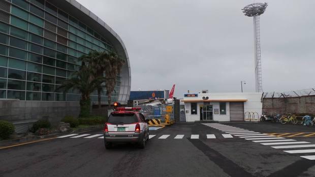 제주공항의 모습