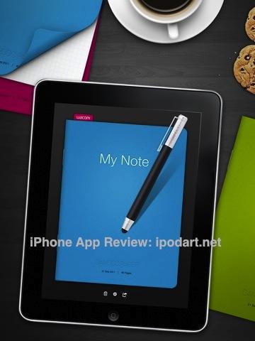 아이패드 마인드맵 필기 드로잉 스케치 노트 Bamboo Paper
