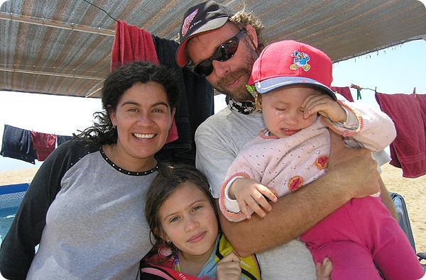필립 가족사진