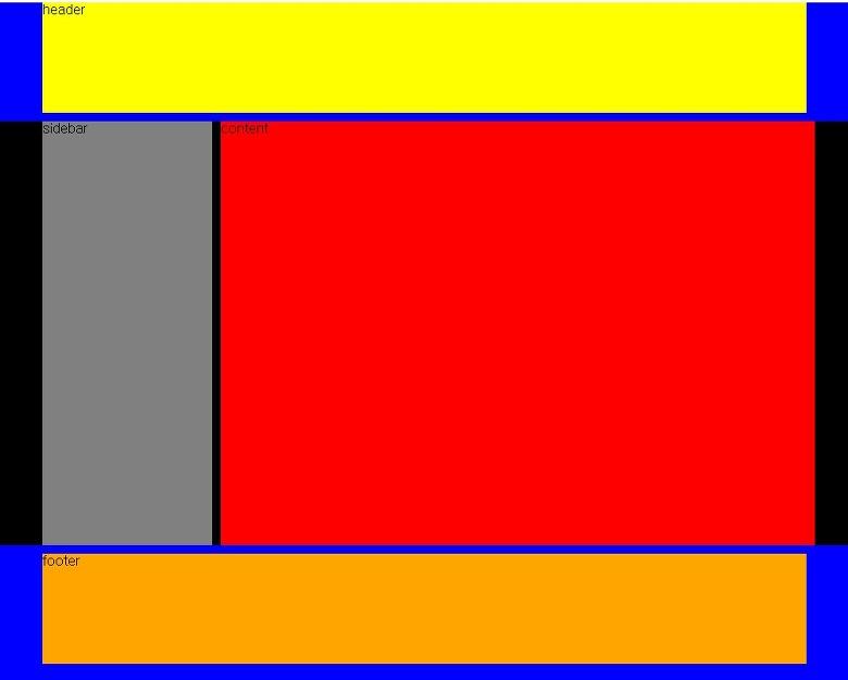 39 s html 1 - Div id header ...