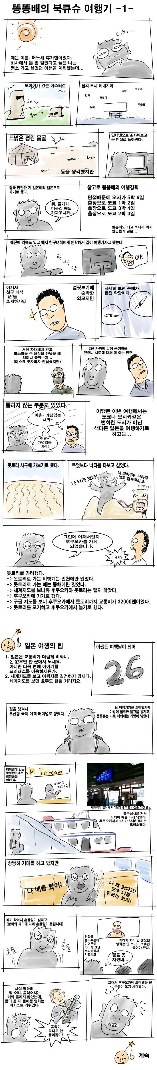 똥똥배의 북큐슈 여행기