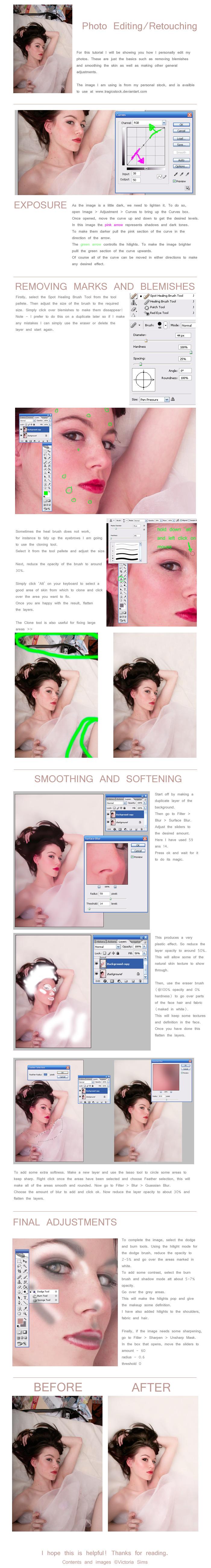 Basic Photo Editing Tutorial