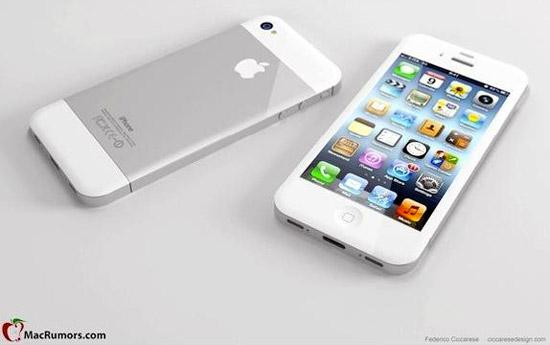 아이폰5(iPhone5) 디자인 제품 외형