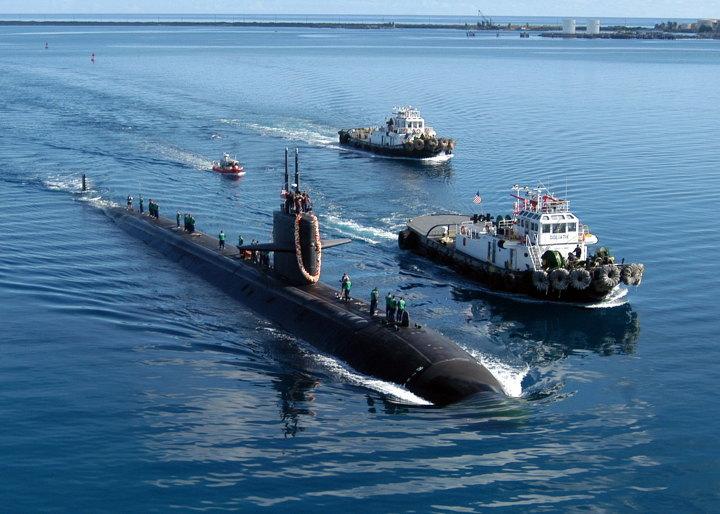 미 핵잠수함 '샌프란시스코함(SSN-711급)'
