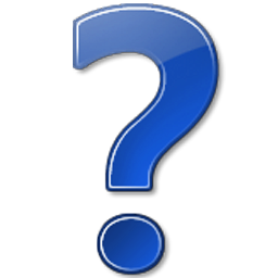 question icon - windows 7