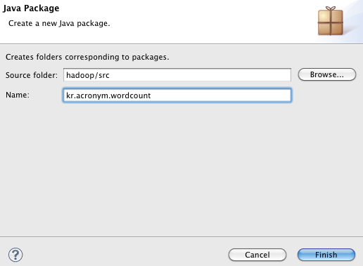 create java package