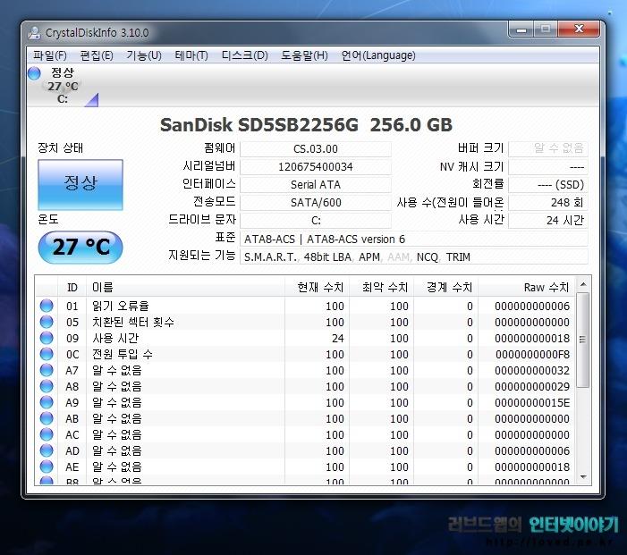 샌디스크 SSD