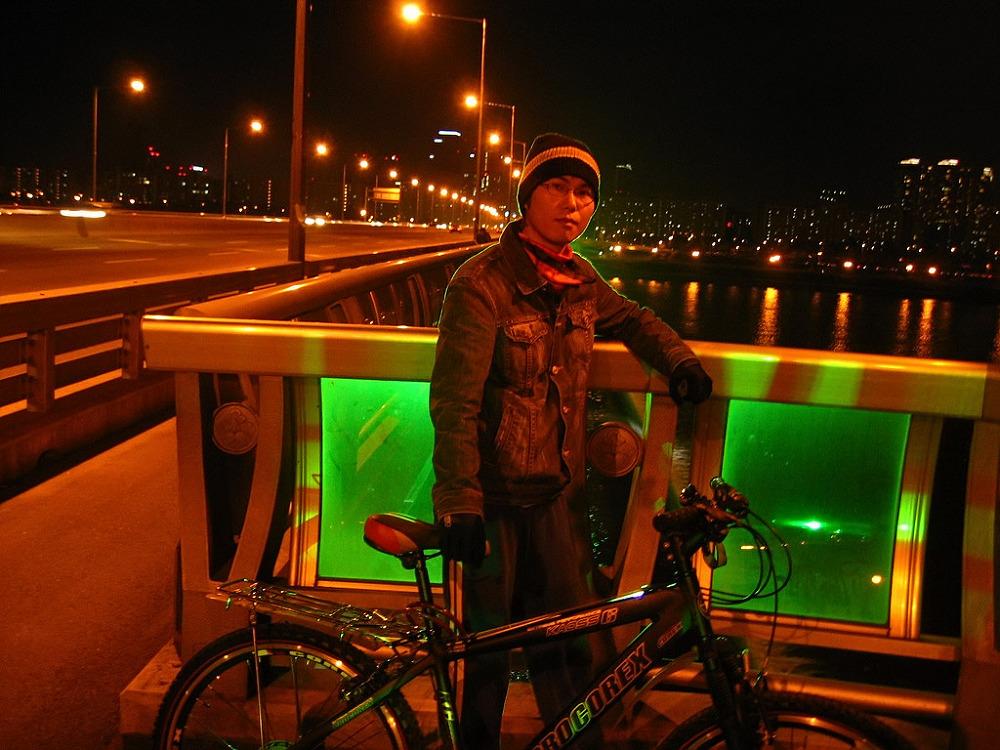 자전거로 달리자 - 여행가기전 기초체력강화용 밤바리 : 1509B74C513B8A1E177B3A