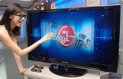 3차원 LCD TV