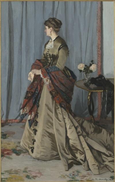 클로드 모네, 고디베르 부인의 초상