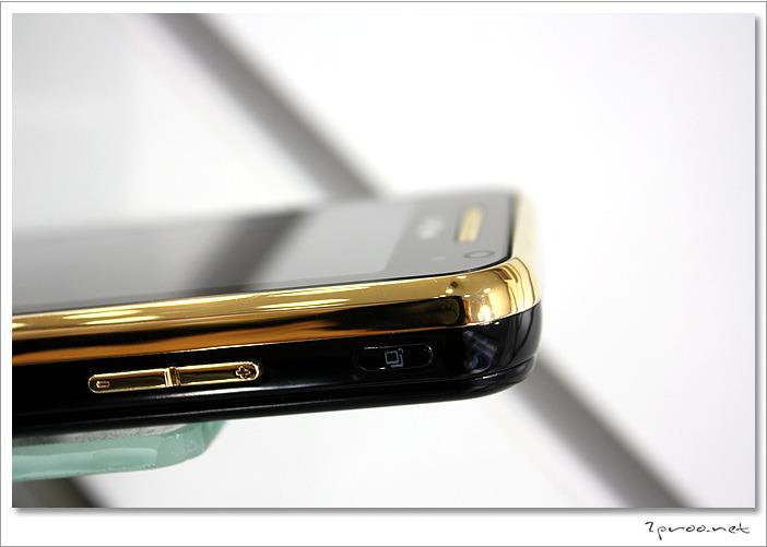 금도금한 핸드폰 사진