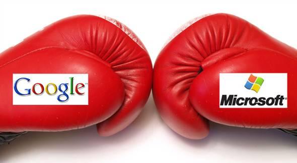 구글 & 마이크로소프트, 인터넷 전쟁터로..