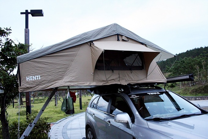 루프탑 텐트