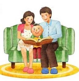책읽는 가족