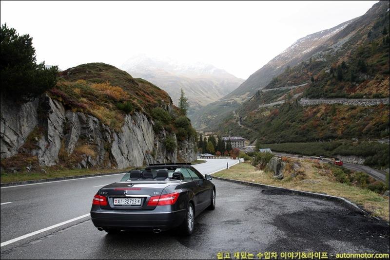 스위스 산악 드라이빙 2탄! 험난한 푸르카패스에 가다.