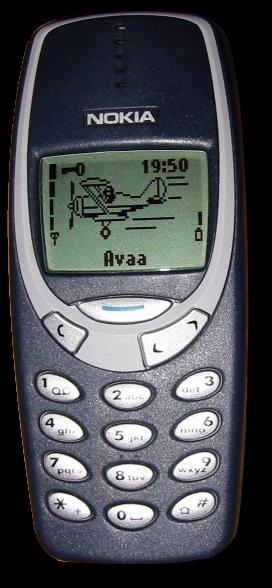 사진 출처: 위키피디아의 Jpk님 http://en.wikipedia.org/wiki/File:Nokia_3310.png