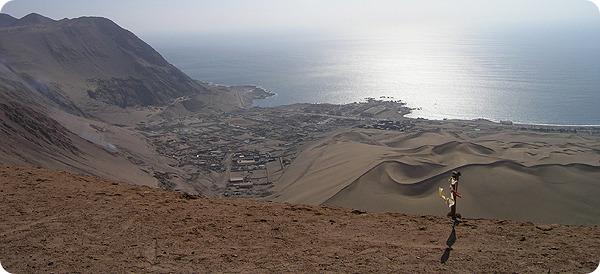 바다와 사막의 공존