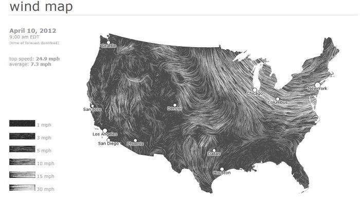 바람 지도(Wind Map)