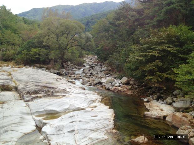 지리산 계곡