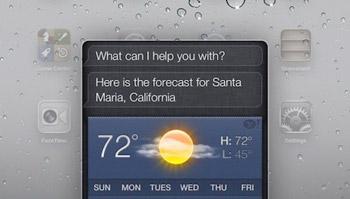 iOS6 iPad Siri