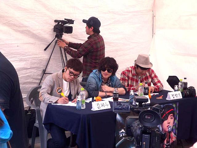 슈퍼스타K 3 부산 예선, 김지수, 정선국, 조문근