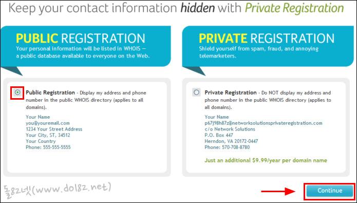 Public Registration