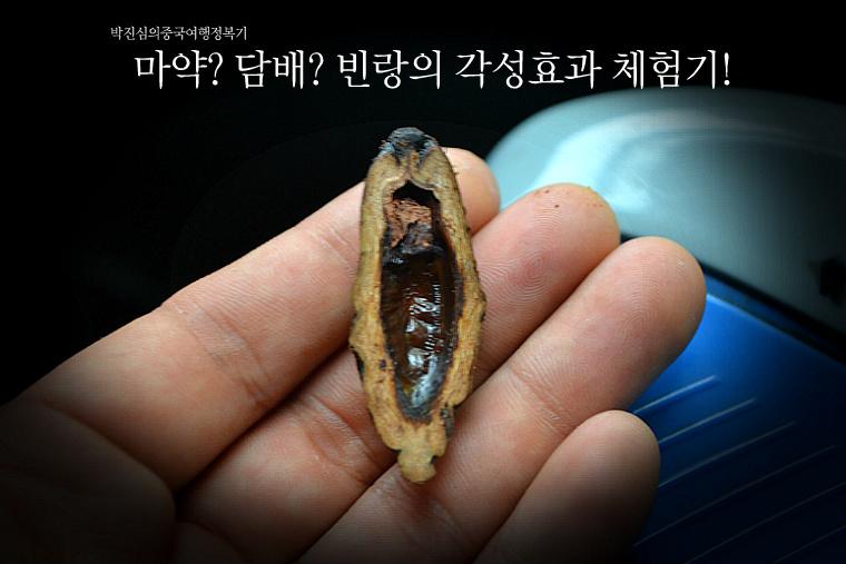 마약? 담배? 빈랑의 각성효과 체험기! (호남성 2-7호)