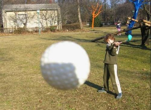 골프 사고