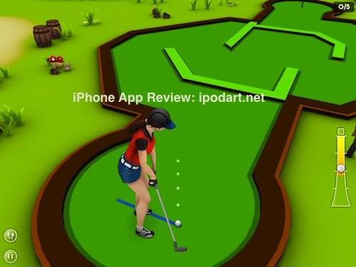 아이패드 게임 미니 골프 Mini Golf Game 3D for iPad