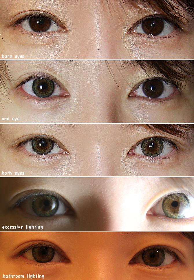 Real Looking Colored Contacts For Dark Eyes