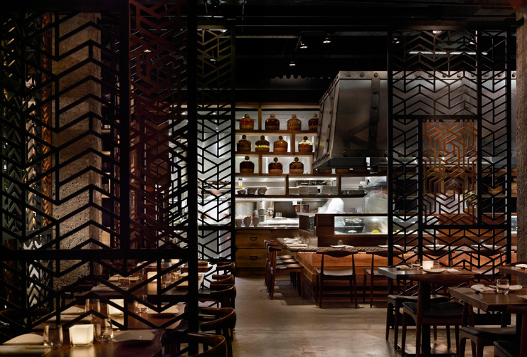 Munge leung ame restaurant 5osa for Best private dining rooms toronto