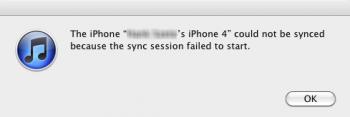 iTunes 10.5 beta 2 오류