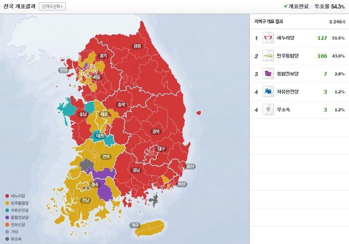 카토그램(Cartogram) - 선거 결과 지도를 효과적으로 나타내는 방법